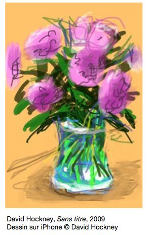 David Hockney iPad paintings