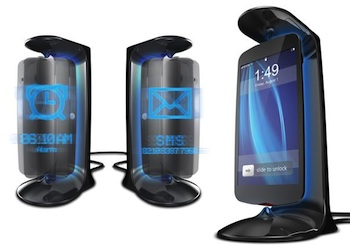 Crazy design concept shows levitating, spinning phone