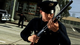 In L.A. Noire violence is used sparingly