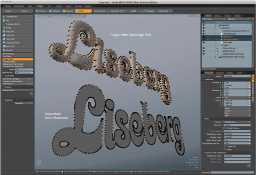 luxology modo 601 3d modelling animation and rendering