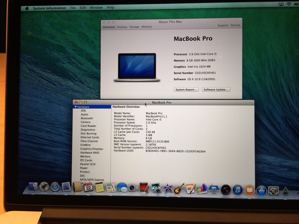 Apple MacBook Pro Retina 13-inch (Late 2013) 02