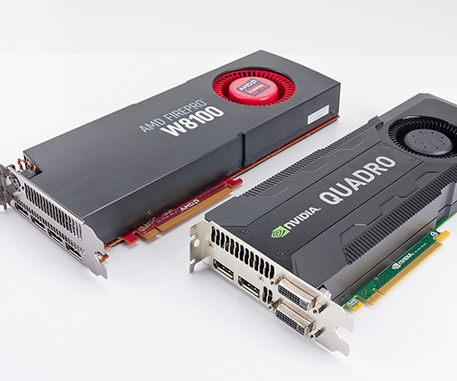 AMD FirePro W8100 vs Nvidia Quadro K5000 review