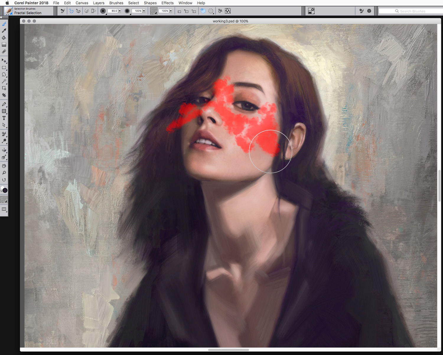 How To Make A Canvas Painting In Photoshop