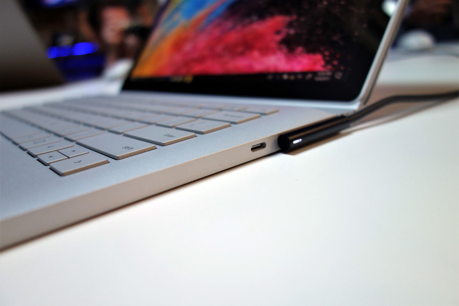Hands On With Microsofts Surface Book 2 The Pros Super Keyboard Usb Votre Right Next To 2s Port Is A New C