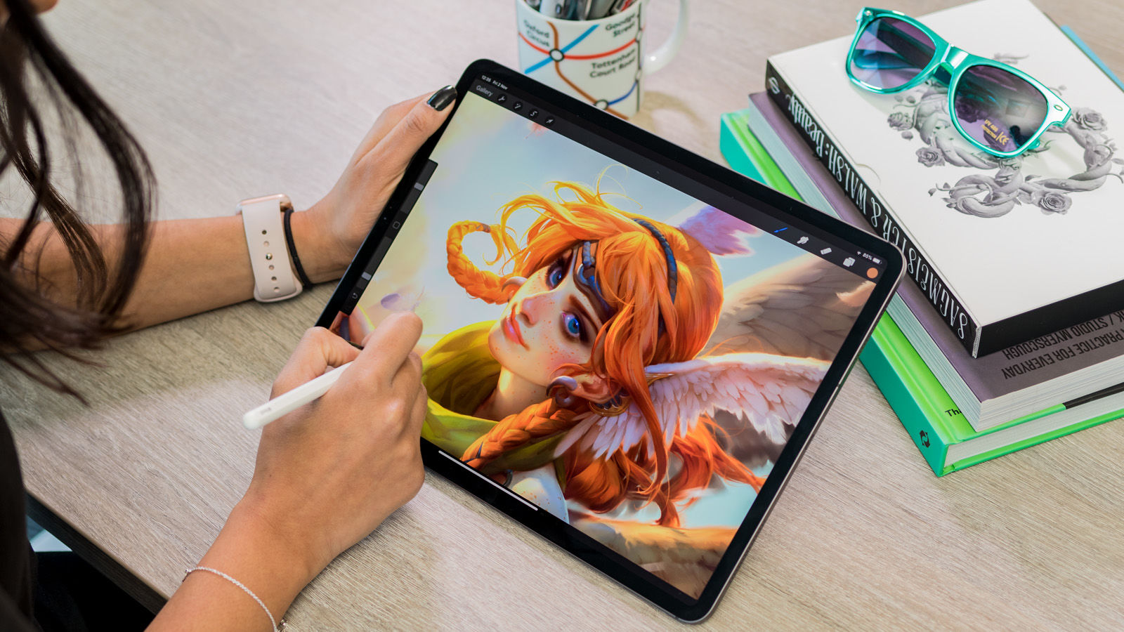 Ipad Pro 2018 Review There S Much For Artists And Designers To Love
