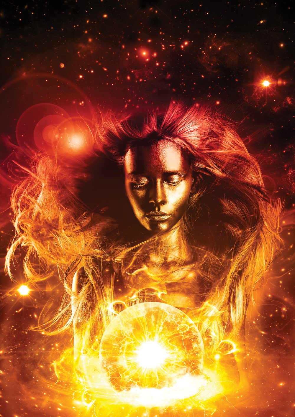 Photoshop tutorial give a portrait a cosmic makeover digital arts software photoshop baditri Gallery