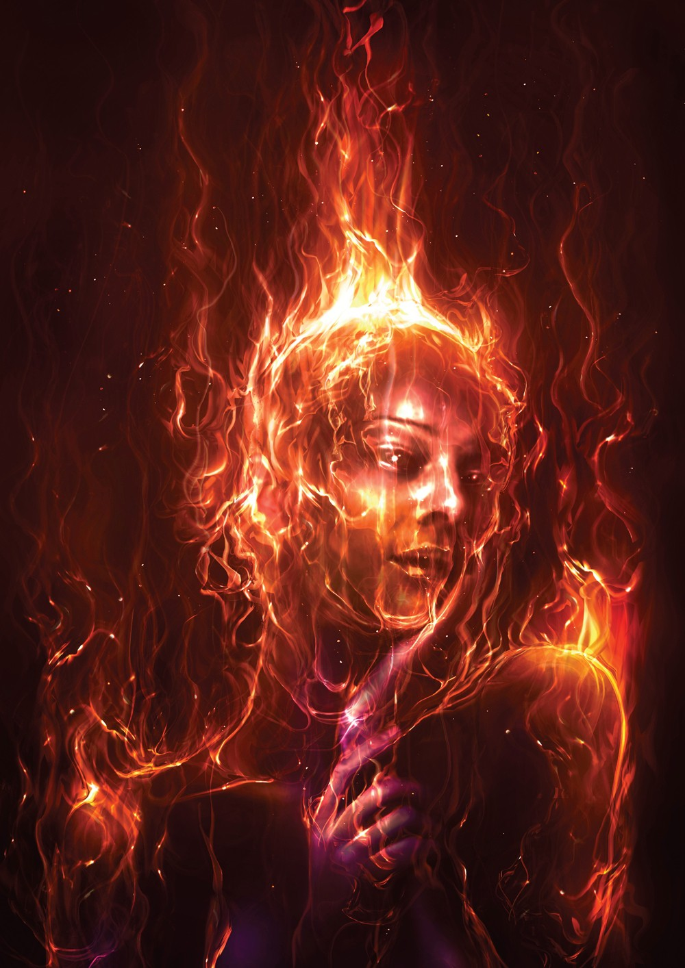 Photoshop Tutorial Paint With Fire Digital Arts
