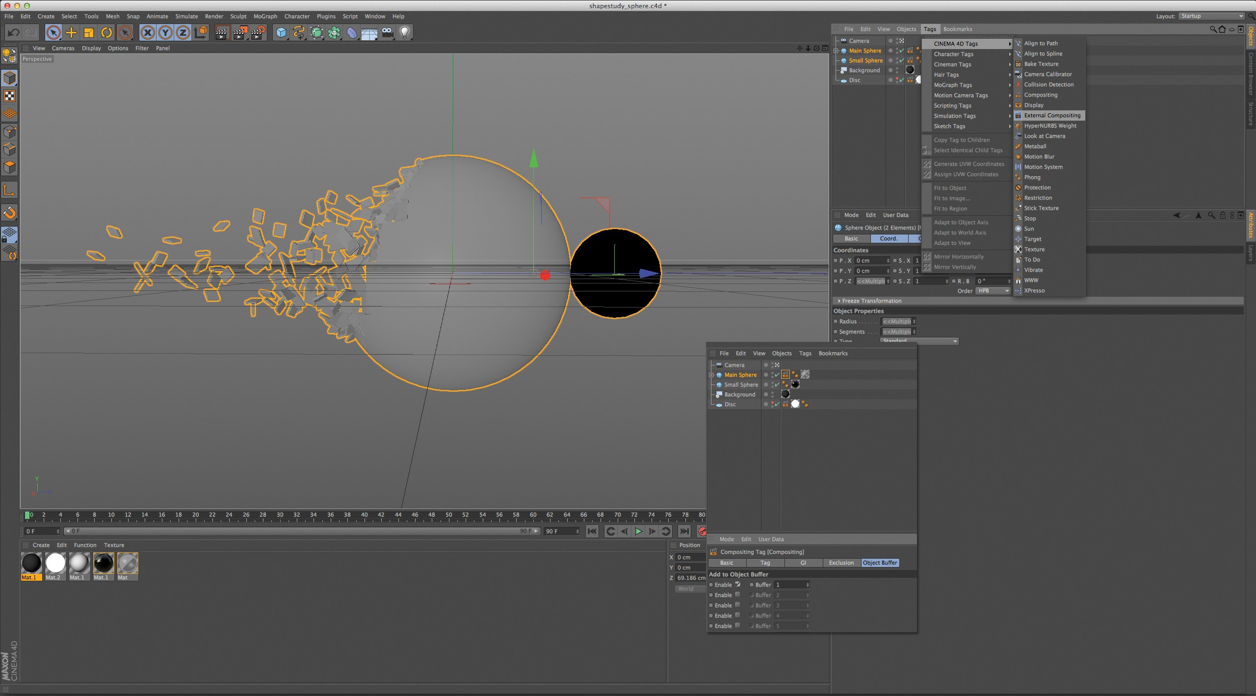 Maxon Cinema 4d Tutorial Create Beautiful 3d Graphics