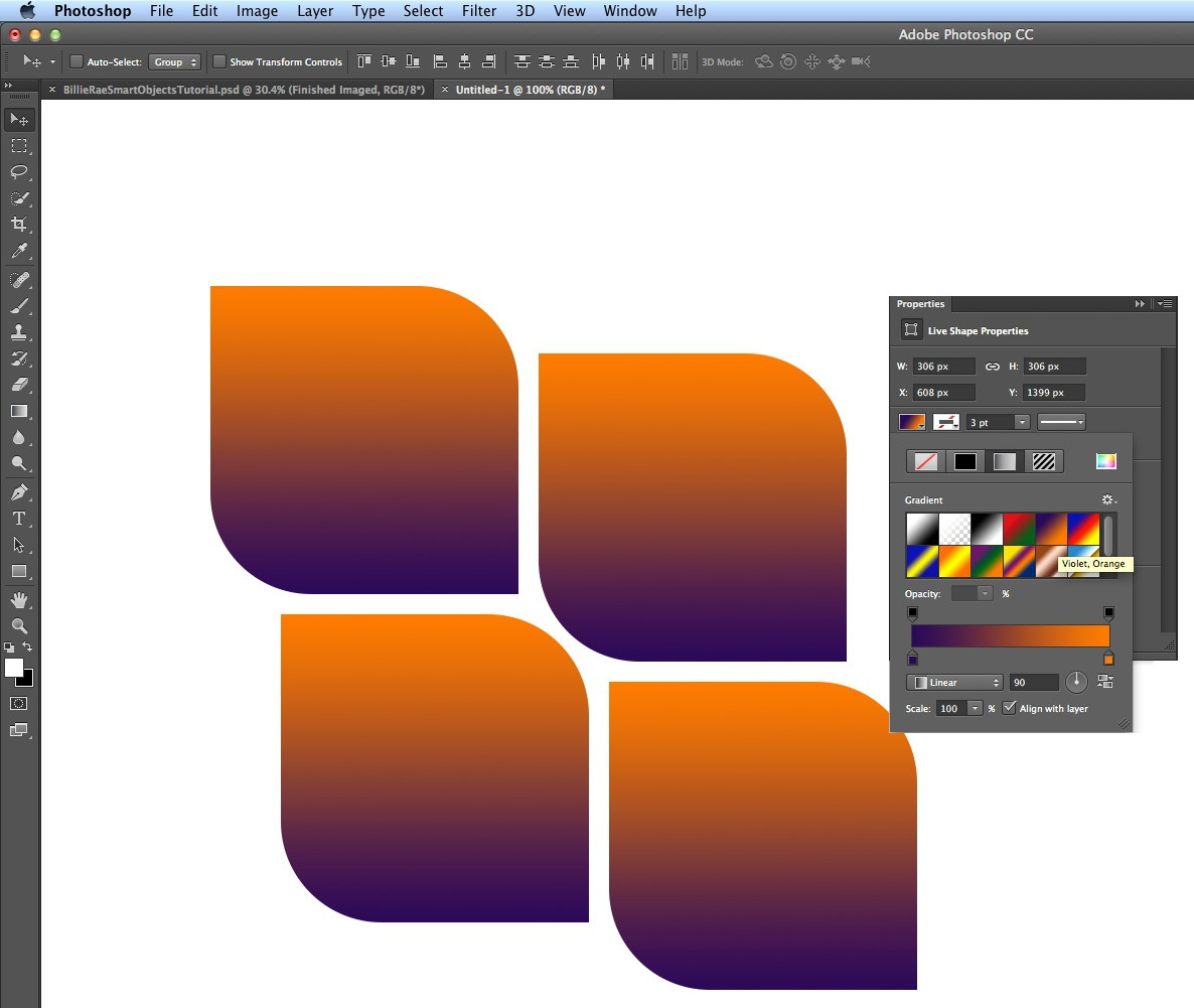 Photoshop tutorial: How to use Photoshop CC's new shapes tools ...