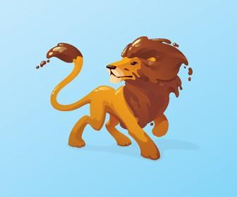 Design a vector animal mascot