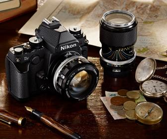 The new Nikon Df digital SLR pairs modern tech with delightful retro looks