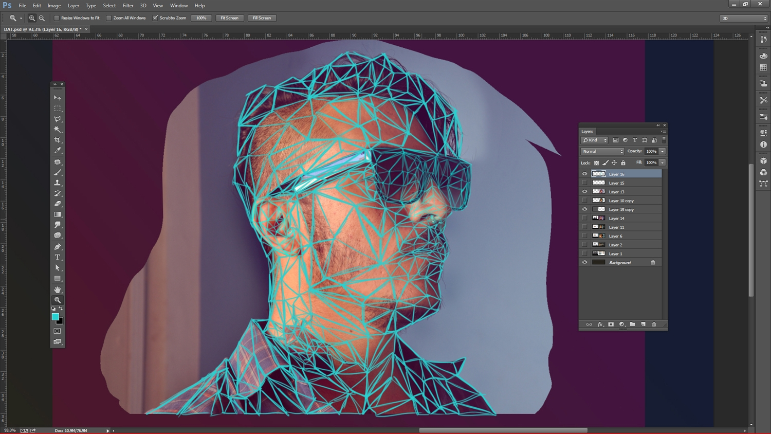 how to create vector illustration in photoshop