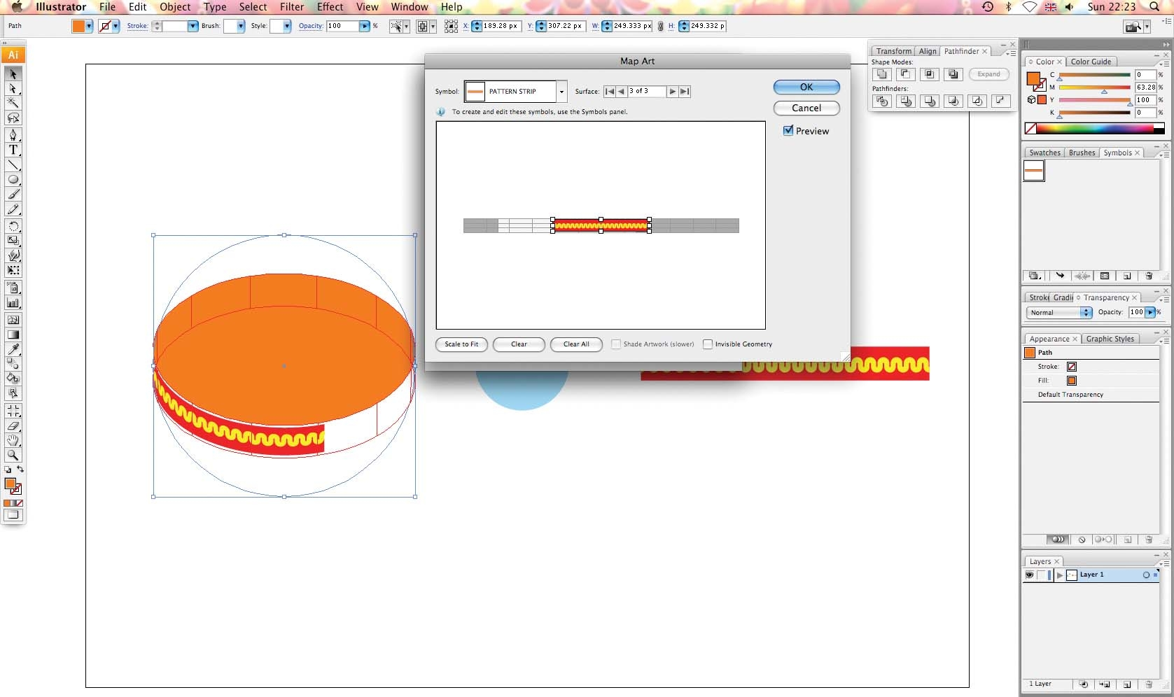 Adobe Illustrator Tutorial How To Make Objects Look 3d In