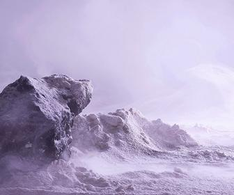Otherworldly landscape photos created using household products