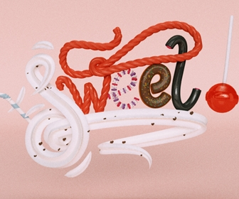 Create sweet 3D type