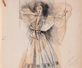 See a treasure trove of vintage fashion illustrations that are going on sale