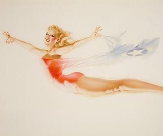 Pin-up artworks celebrated in new Taschen book