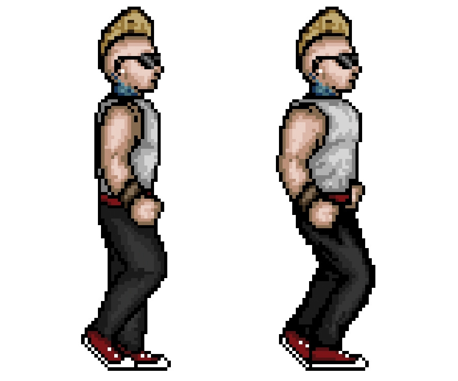 Turn a photo into 16-bit pixel art