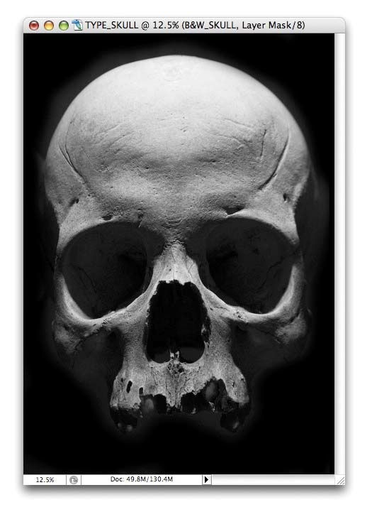 Photoshop tutorial: Create a skull out of type - Digital Arts