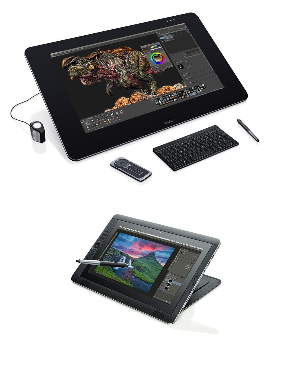 Wacom Launches Huge 27 Inch Cintiq 27QHD Upgrades Companion