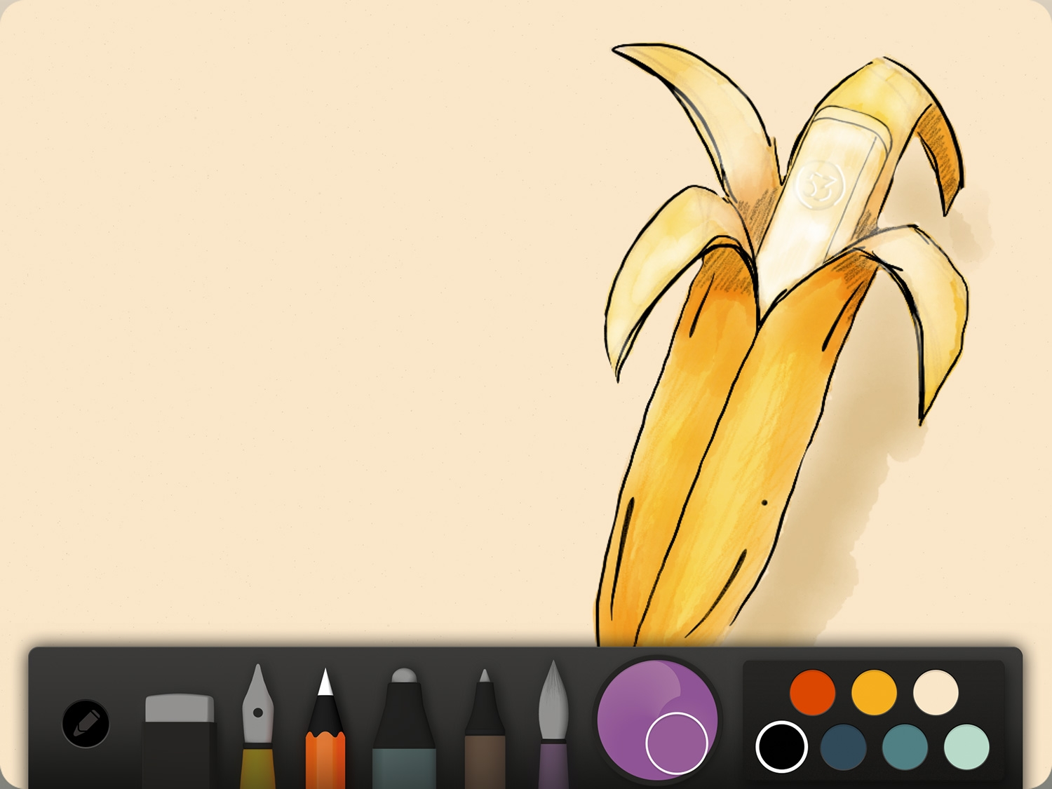 Scribble Drawing App : The fifty three paper ipad drawing app is now completely