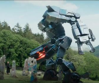 British sci-fi movie Robot Overlords stomps out to conquer cinemas