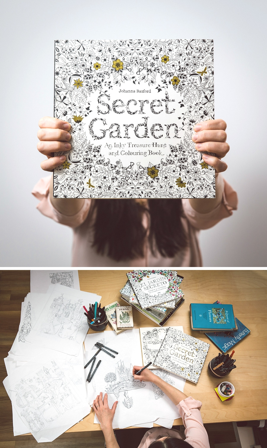 Adult coloring books for pc download - Buy Johanna Basford S Books From Amazon Secret Garden Enchanted Forest Lost Ocean Magical Jungle And Johanna S Christmas Pre Order