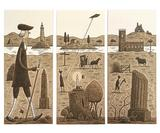 Tom Gauld illustrates cards that you can rearrange to tell different stories