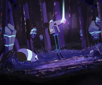 Take a walk in some very strange woods with the immersive Truffle Pig VR adventure