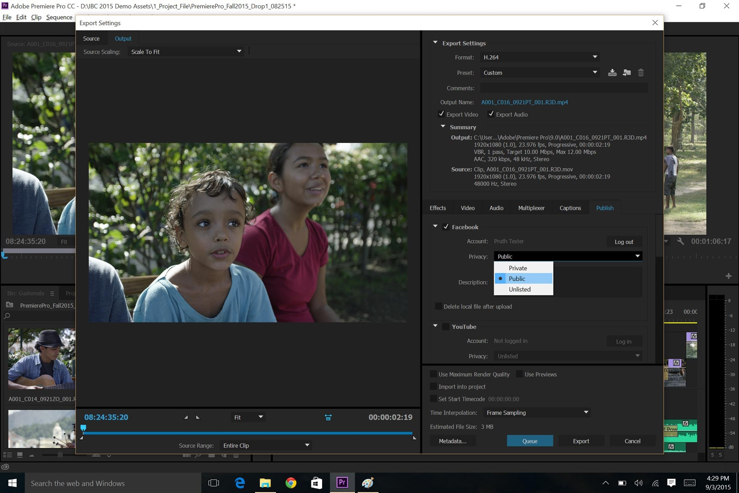 how to change resolution premiere pro cc