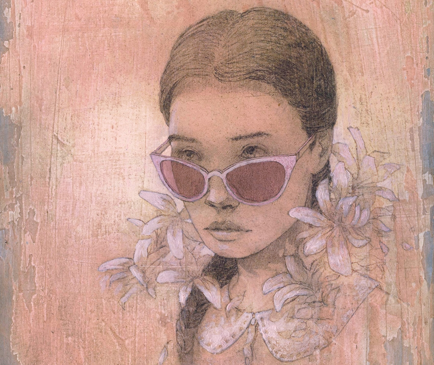 See these beautiful yet unsettling illustrations by Federico Infante for a new edition of Lolita