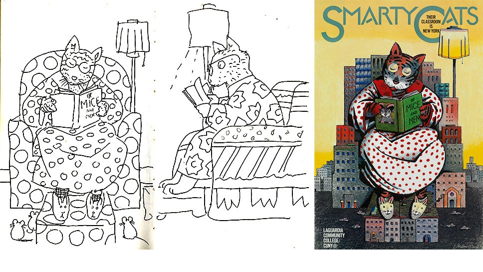 See Inside The Sketchbooks Of Famous Graphic Designers And