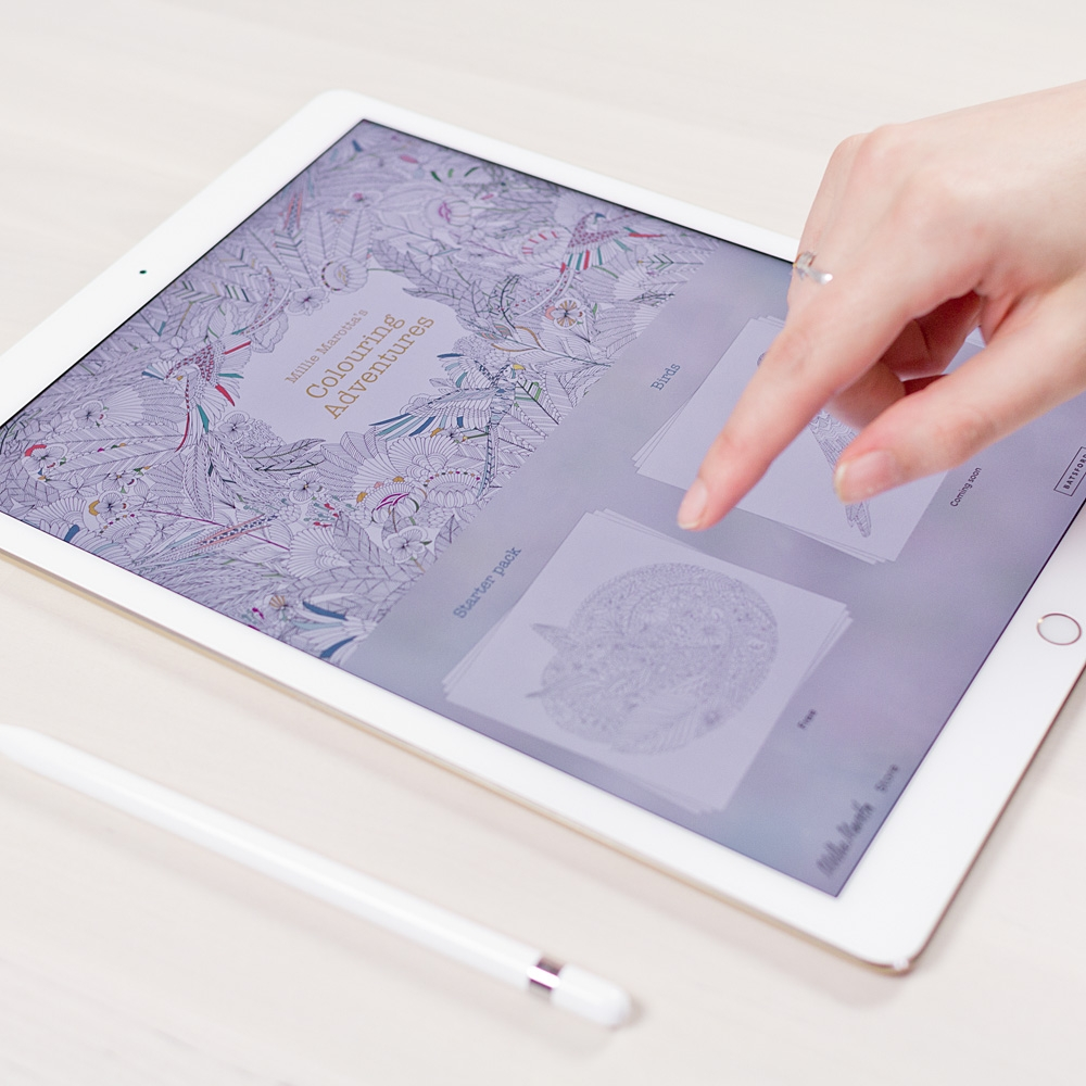Millie Marotta Tells Us About Drawing Her Colouring Book IPad App As It Hits 250000 Downloads