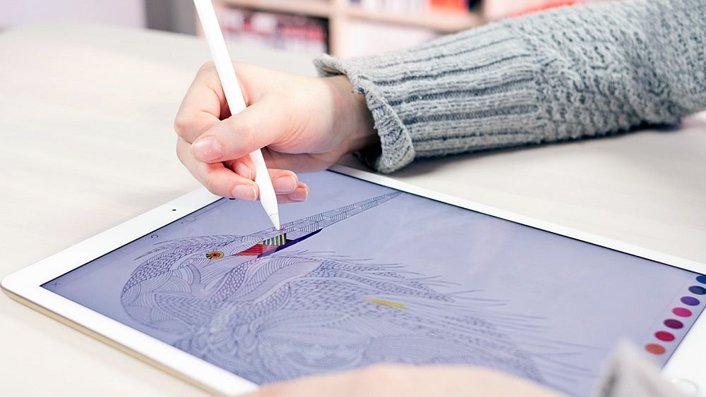 Millie Marotta Tells Us About Drawing Her Colouring Book IPad App As