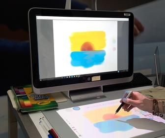 HP Sprout Pro: Hands-on with the new creative computer with a built-in scanner, projector and tablet