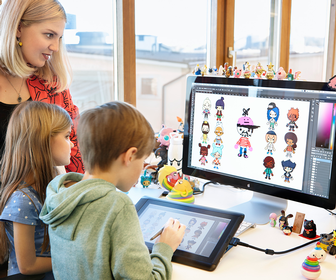 Don't you wish your studio looked like Toca Boca's new playground-inspired space?