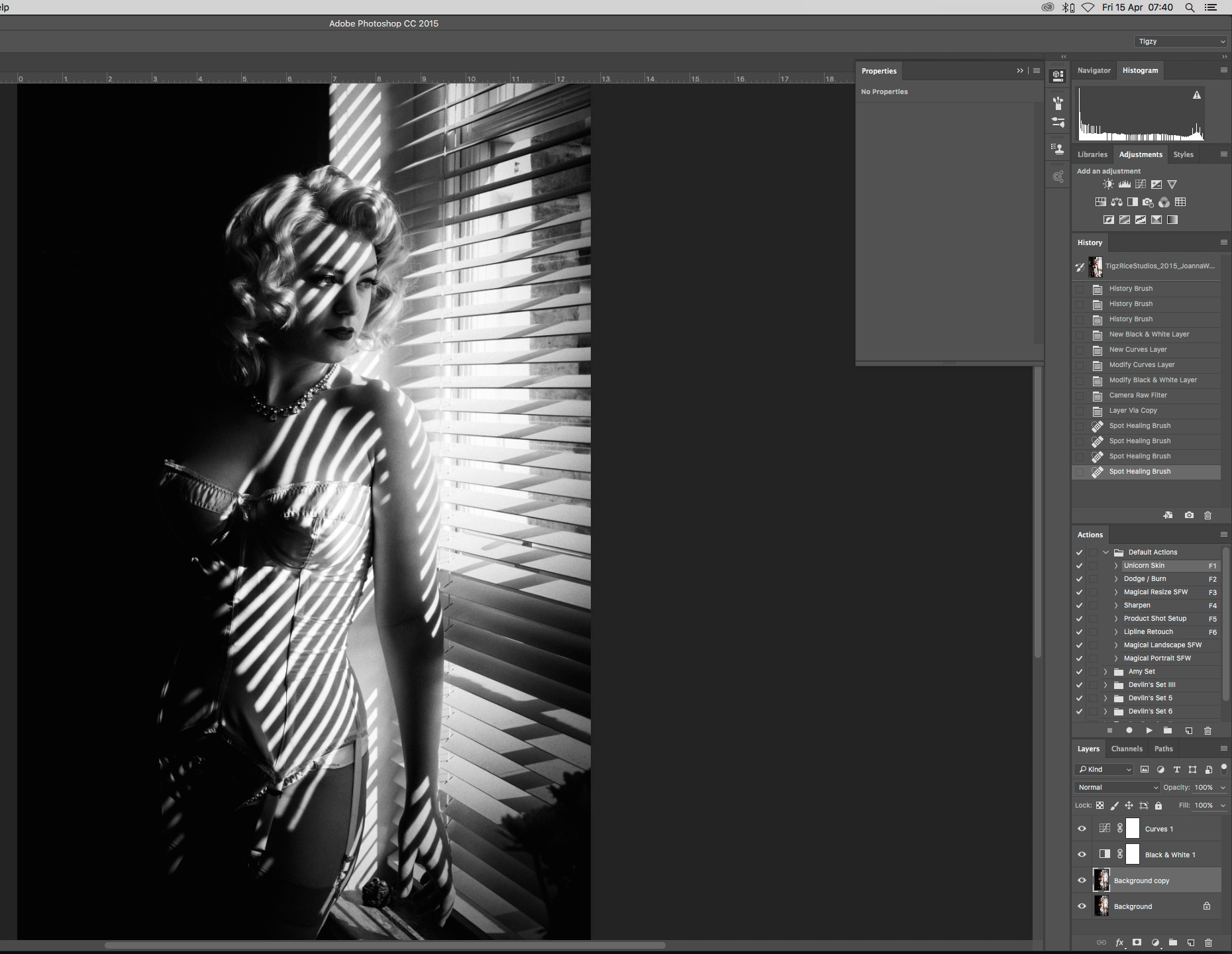 Photoshop Tutorial Vintage Photo Effects Create A 1940s