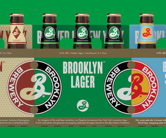 Milton Glasers new Brooklyn Brewery packaging designs look irresistible