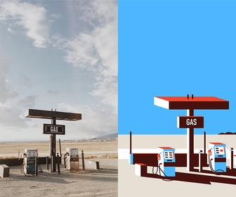 This photographer-illustrator collaboration creates beautiful, parallel worlds