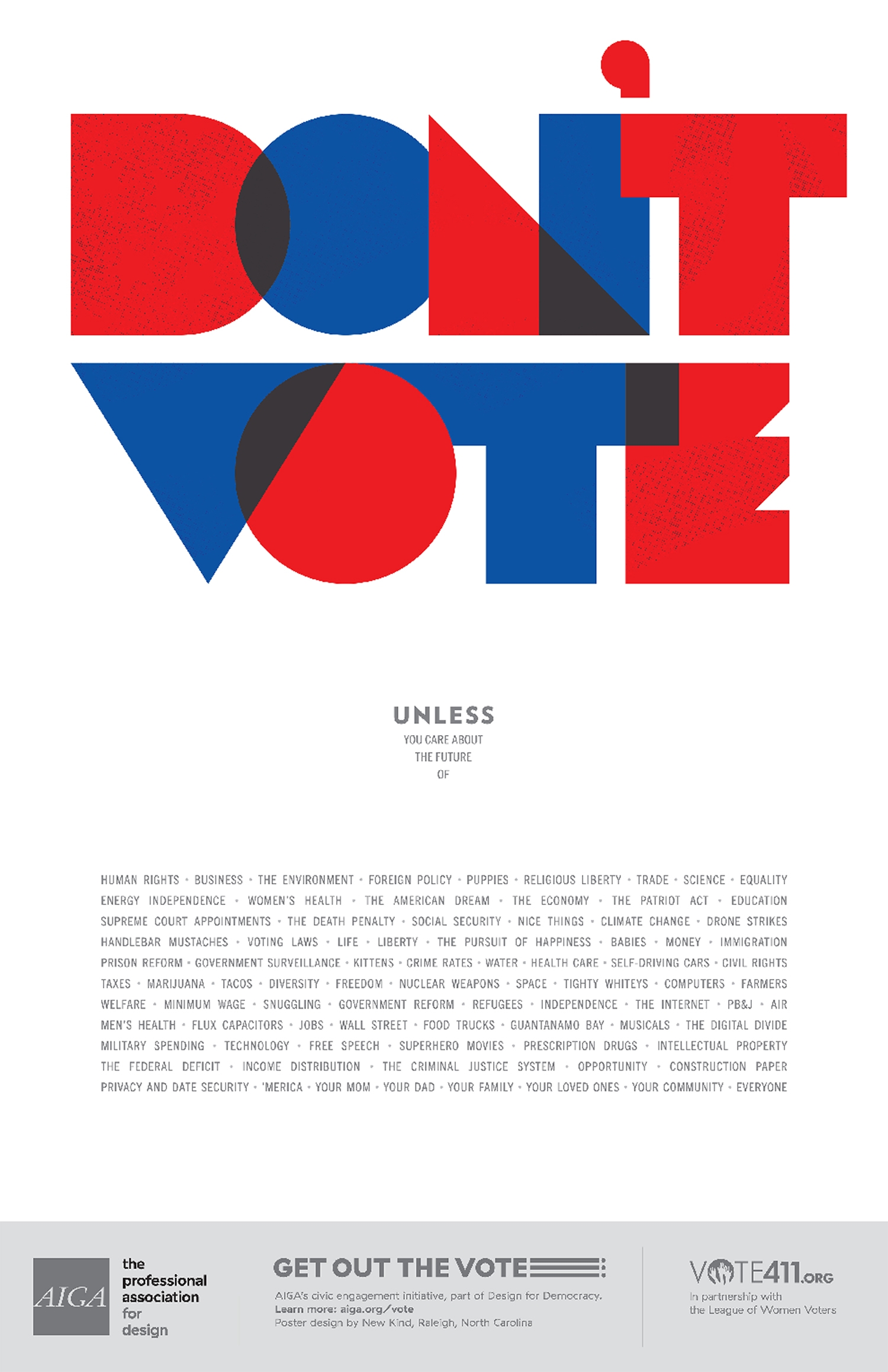 Poster design jobs uk - 13 Wonderful Us Election Posters Designed To Inspire People To Vote Digital Arts