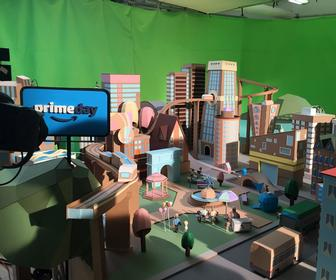 These Stop-motion Films and GIFs were built from Amazon boxes
