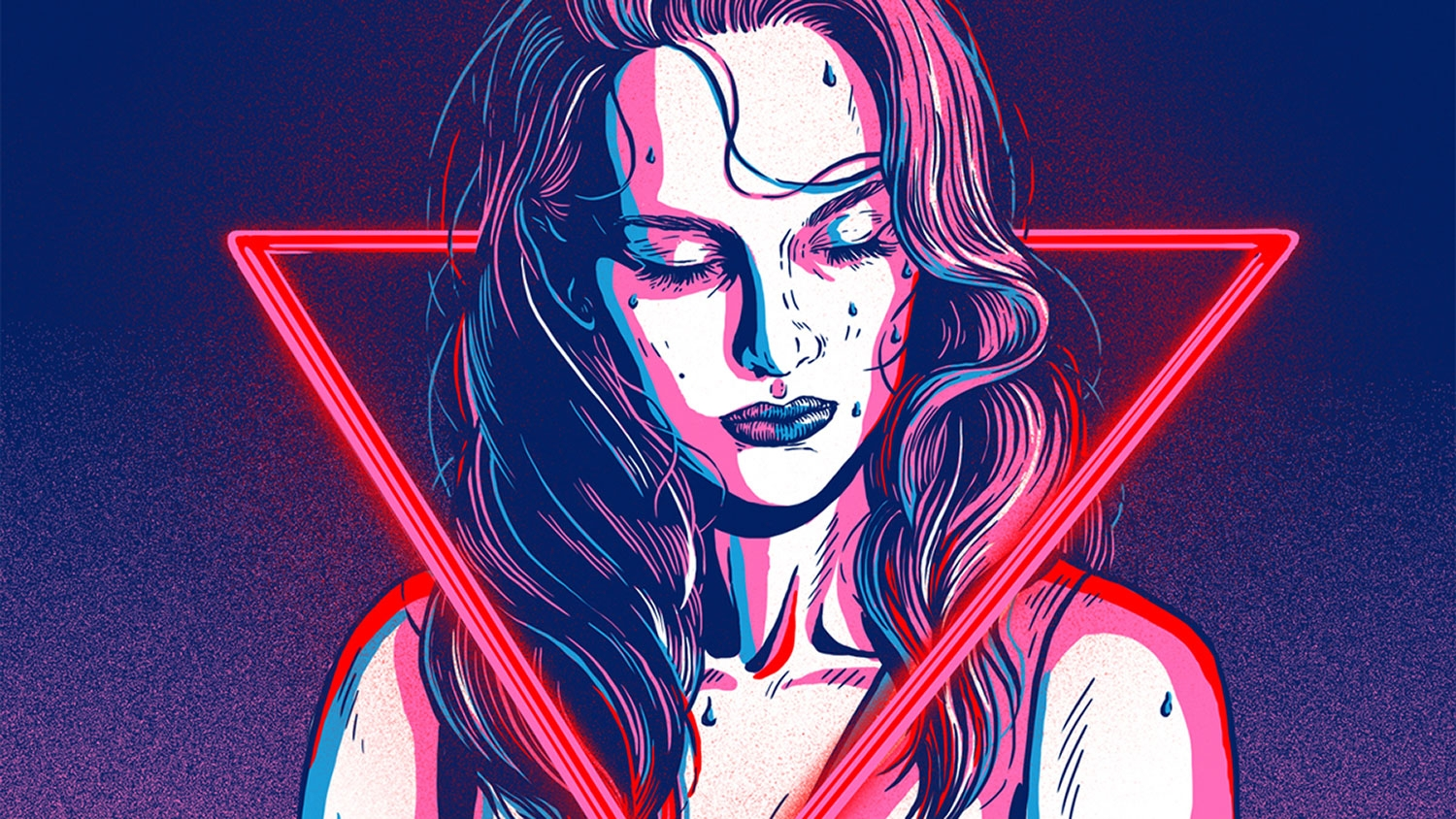 These Neon Demon Illustrations Are Both Seductive And
