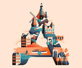 This Wanderlust Alphabet Cleverly Unifies Travel, Typography & Illustration