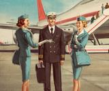 Alexey Kot's beautiful retro board game illustrations take us back to the Golden Age of Flying