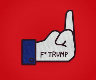 Sagmeister & Walshs brutal anti-Trump pin and badge designs