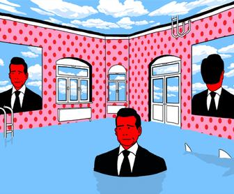 Andrey Kasay's illustrations are not afraid to be bold, bizarre & open to interpretation