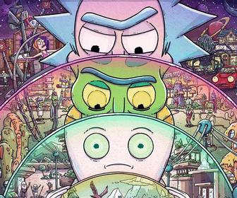 These Rick & Morty-inspired artworks are just fantastic