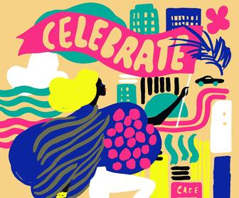 Erica Jacobsons vibrant illustrations are simply delightful