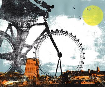 Katie Edwards country-meets-city screenprints are beautifully dreamy
