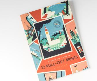 Illustrator David Doran's new type-based prints explore the beauty of cities around the world